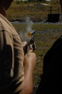 over and under shotgun for clay shooting